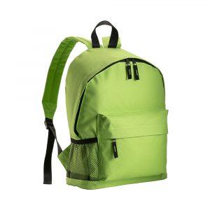 Zaino Colorato 600D Tre Tasche - Verde