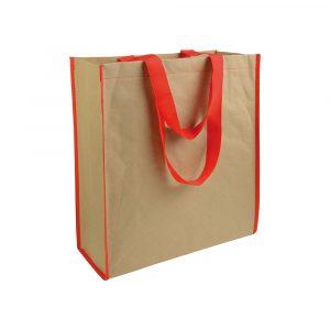 Shopper in Carta Rosso