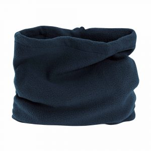 Fascia Scaldacollo in Pile Blu